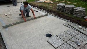 polaganje betonskih plosc